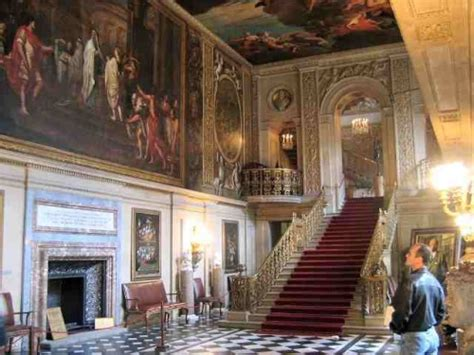 stately home interior grimsthorpe castle lincolnshire