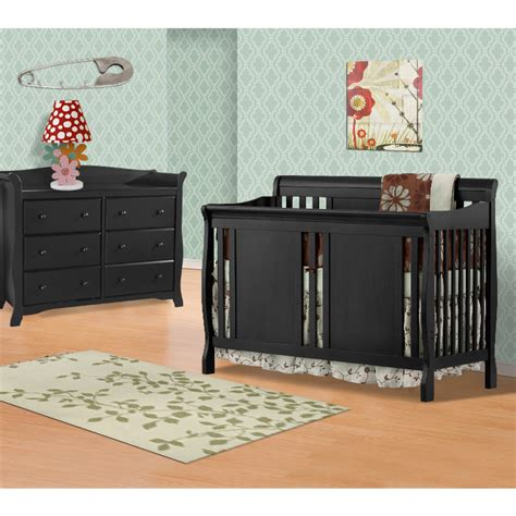 Black Nursery Furniture Sets Black Crib Furniture Sets Storkcraft 2 Nursery Set Verona Convertible Crib And Best Design