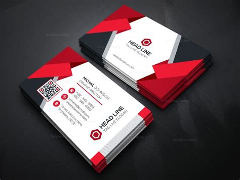 stylish business cards templates stylish business card template 000166 template catalog
