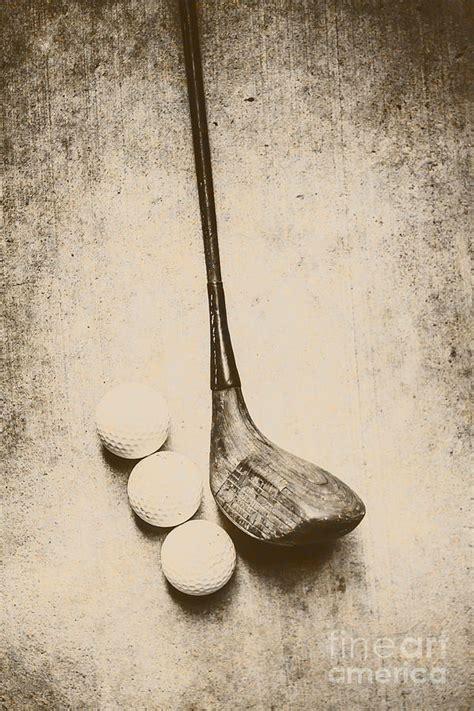 vintage golf artwork photograph  jorgo photography