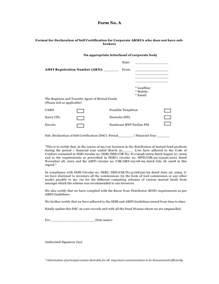 Self Certification Letter Template Self Declaration Form 2010 2011