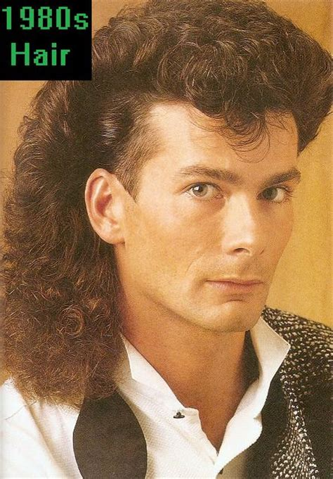 1980s Mens Hairstyles by 1980s Hairstyles Bakuland Fashion
