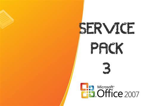 service pack 3 para microsoft office 2007 ya est 225