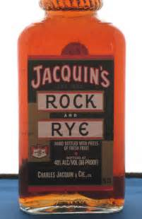 the institute for alcoholic experimentation curiosity cabinet 5 jaquin s rock and rye