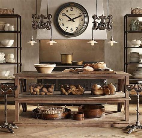 restoration hardware kitchen design ideas pictures 25 interior designs with steunk style messagenote