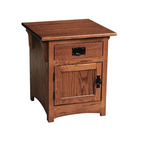 End Table Cabinet by Mission Cabinet End Table Amish Mission Cabinet End