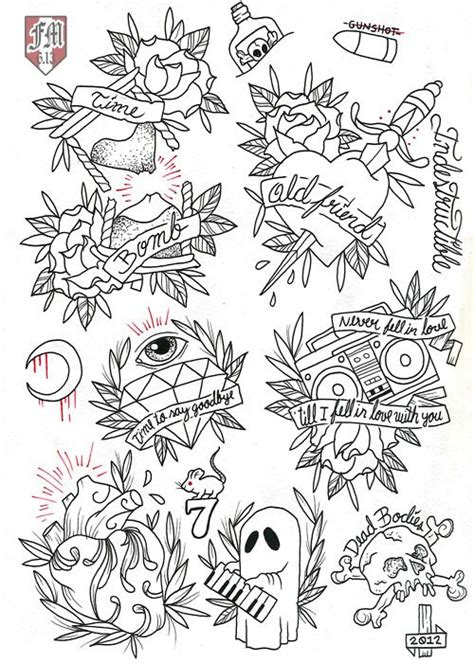 tattoo flash line art friday 13th flash эскизы pinterest to say goodbye