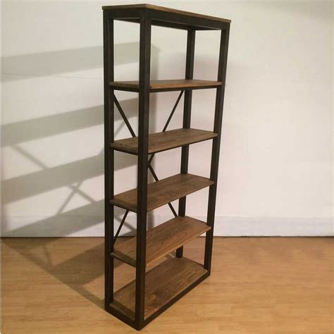 bookcases shelving industrial style bookcase