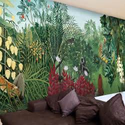 Jungle Wall Murals Online Get Cheap Jungle Wallpaper Mural Aliexpress Com