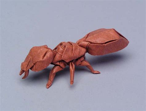 Origami Robert Lang - robert j lang gt origami model gt ant opus 286