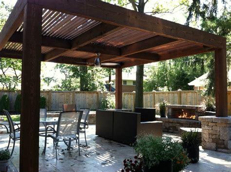 Outdoor rooms on Pinterest   Modern Pergola, Pergolas and