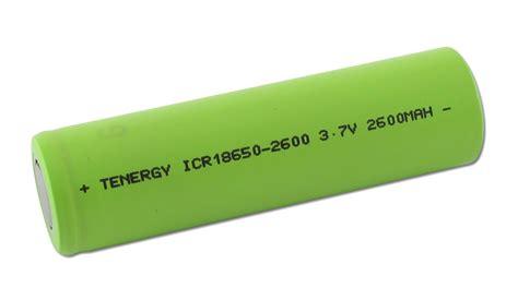 Battery 18650 Lithium Ion 3 6v 2200mah Flat tenergy 3 7v 2600mah lithium ion 18650 flat top