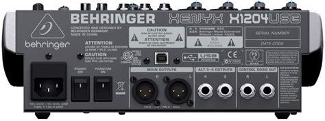 Mixer Behringer Xenyx X1204usb xenyx x1204usb behringer x1204usb mixer 41845 sound