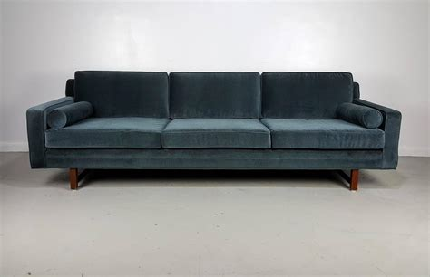 1960s style sofa gorgeous mohair tuxedo sofa in the style of harvey probber