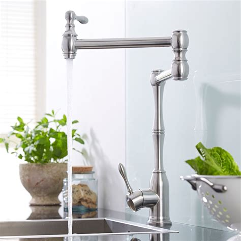 Retractable Kitchen Faucet Single Retractable Kitchen Faucet