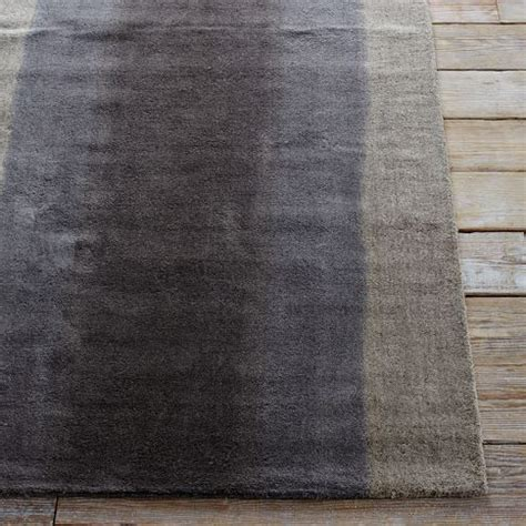 Ombre Runner Rug Ombre Dye Rug Plaster West Elm Transitional Family Room In Need Of Color Pinterest