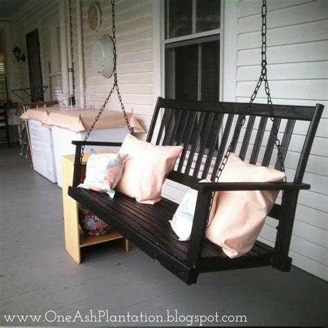 how to keep from blowing in on porch diy porch decoration one ash homestead