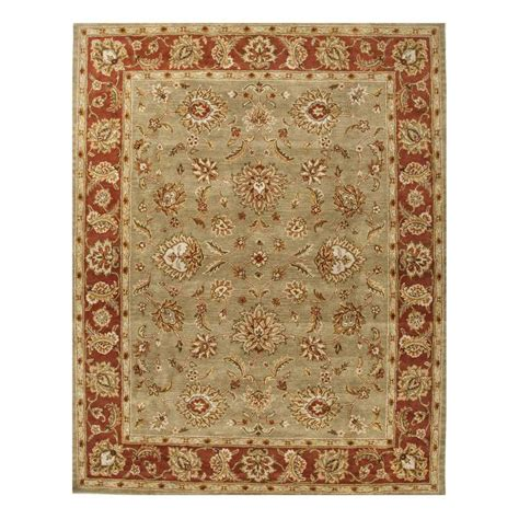 jaipur rugs jaipur rug1030 mythos tufted pattern wool green area rug homeclick