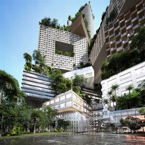 urban design di indonesia peruri 88 jakarta tower building e architect