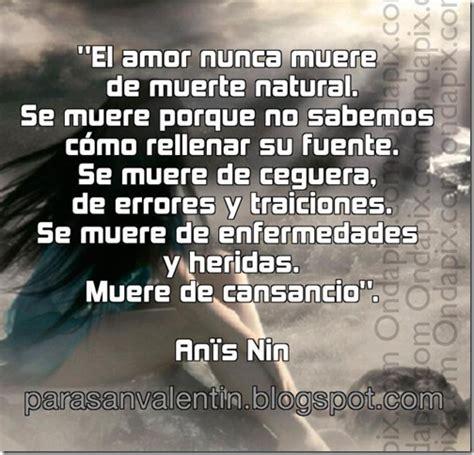 imagenes y frases de amor nadie se muere el amor nunca muere de muerte natural