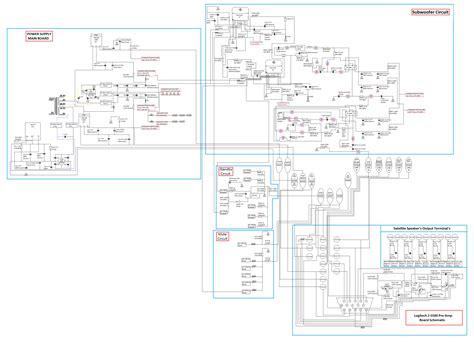 logitech z 5500 schematic almi s logitech z 5500 mod