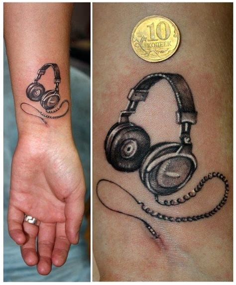 best 25 headphones ideas on tattoos