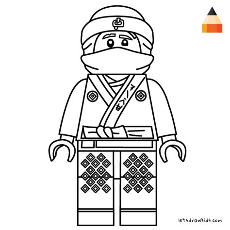 coloring pages lego ninjago movie how to draw lego kai ninja kai the lego ninjago movie