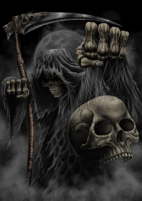 imagenes calaveras terrorificas demon mort vivant page 5