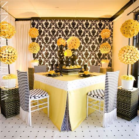 1000  images about Black & yellow weddings/reception on