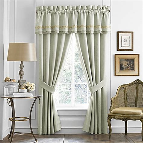 croscill window curtains croscill 174 lorraine window curtain panel pair and valance