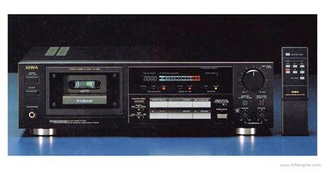 aiwa cassette aiwa ad f880 manual three stereo cassette