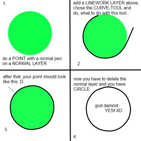 paint tool sai simple circle how to make a circle with pts by septemberice on deviantart