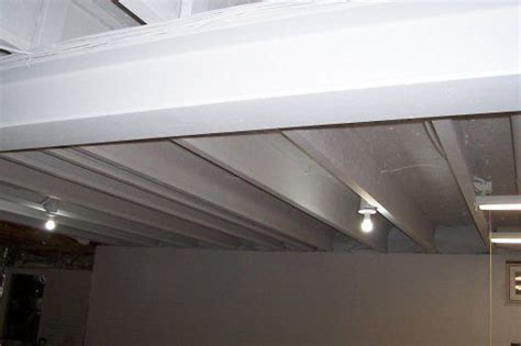 Industrial Ceiling Paint by Basement Ceilings Basements And How To Paint On