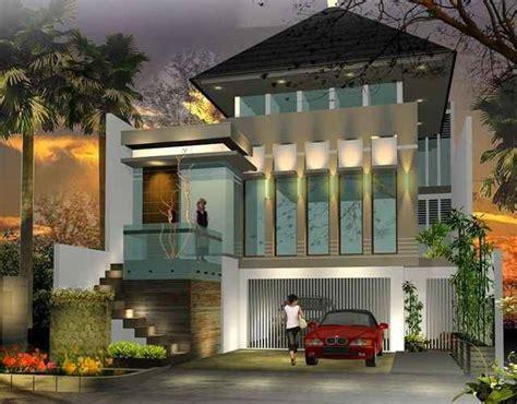 desain foto rumah mewah  lantai gambar desain rumah
