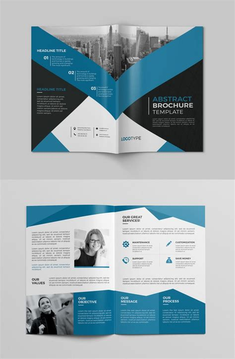 1000 ideas about tri fold brochure design on pinterest