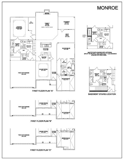 100 floor plans for patio homes miramonte homes homes 100 floor plans for patio homes miramonte homes homes