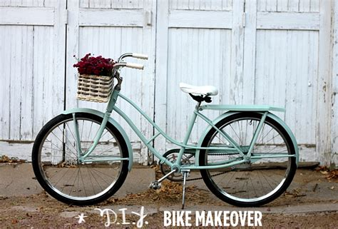 spray painting a bike diy bike makeover a beautiful mess