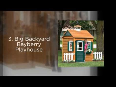 big backyard bayberry playhouse list of the best kids wooden playhouses best reviews