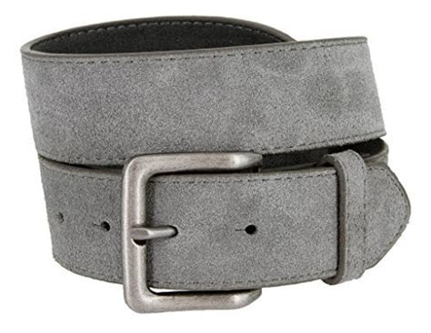 square buckle casual jean suede leather belt for