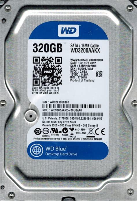 Western Digital Wd3200aakx Desktop western digital wd3200aakx 00u6aa0 320gb dcm earnht2mhb ebay