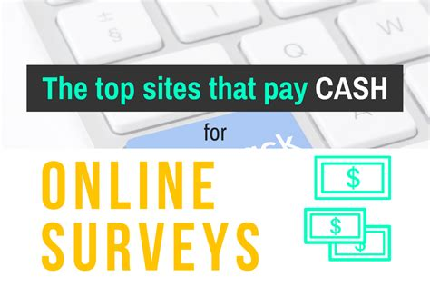 Online Survey Sites That Pay Cash - paid surveys fanatic make money with online surveys