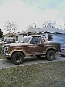 85 Ford Bronco 85 Ford Bronco