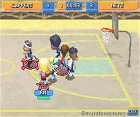 backyard basketball gba backyard sports basketball 2007 rom for game boy advance