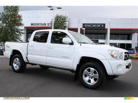 white toyota truck 2008 toyota tacoma v6 trd sport double cab 4x4 in super
