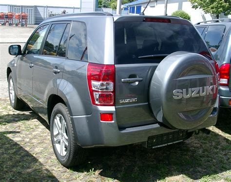 Suzuki Vitara 2007 Review Suzuki Vitara 2007 Review Amazing Pictures And Images