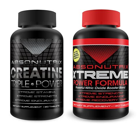 creatine nitric oxide absonutrix nitric oxide xtreme and creatine power