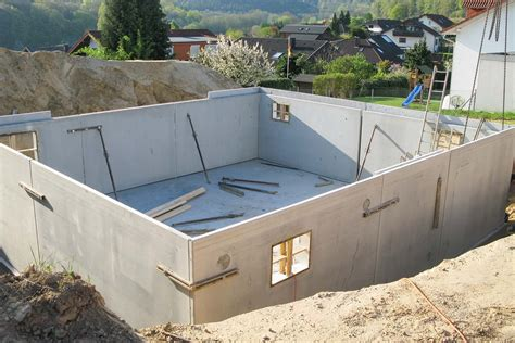 concrete basement construction why concrete basement walls are superior homes