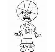 Basketball 6 Sports Coloring Pages &amp Book