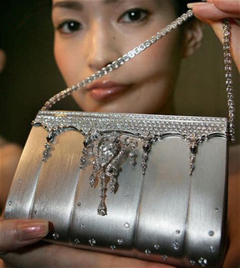 The 163 Million And Platinum Handbag by The 1 63 Million Platinum And Designer Purse
