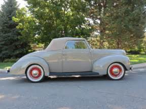 Ford Cabriolet 1939 Ford Cabriolet Rumble Seat Convertible Frame